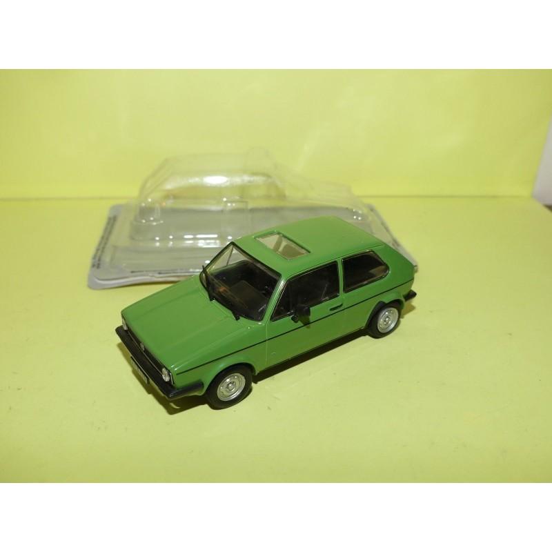 VW GOLF I Vert ATLAS 1:43 sous blister