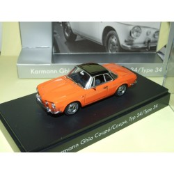 VW KARMANN GHIA COUPE TYPE 34 Orange MINICHAMPS 1:43