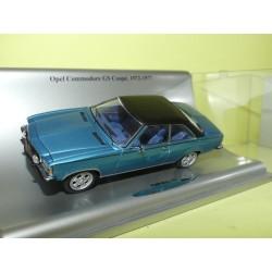 OPEL COMMODORE GS Coupe Bleu 1972-1977  SCHUCO 1:43