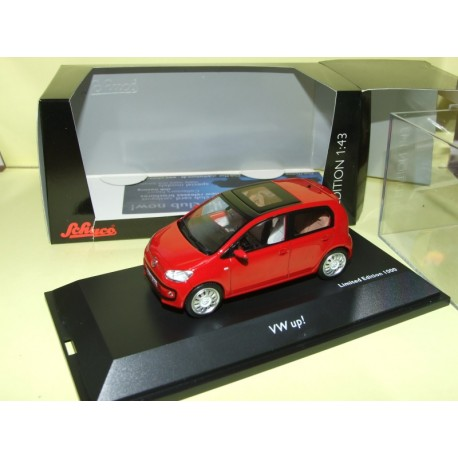 VW UP 5 Portes Rouge SCHUCO 1:43