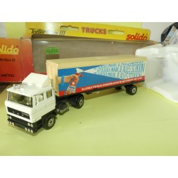 CAMION DAF GLASSEX PISTOOL HOLLAND NL SOLIDO 1:50
