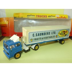 CAMION RENAULT G SAUNDERS FRUITS ET VEGETABLES SOLIDO 1:50