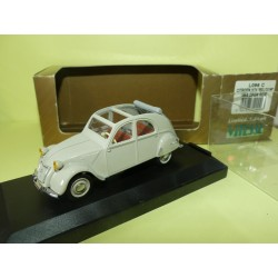 CITROEN 2CV BELGIUM 1956 CLOSED ROOF VITESSE L096A 1:43