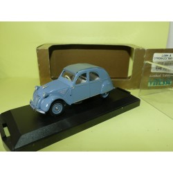 CITROEN 2CV ENGLAND 1953-54 CLOSED ROOF Bleu VITESSE L084A