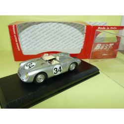 PORSCHE 550 RS N°34 LE MANS 1957 BEST 9592 1:43