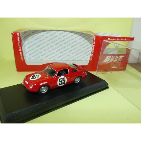 ABARTH 700 S N°55 LE MANS 1961 BEST 9570 1:43