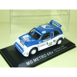 MG METRO 6R4 RALLYE RAC 1985 T. POND ALTAYA 1:43 Arrivée 3ème