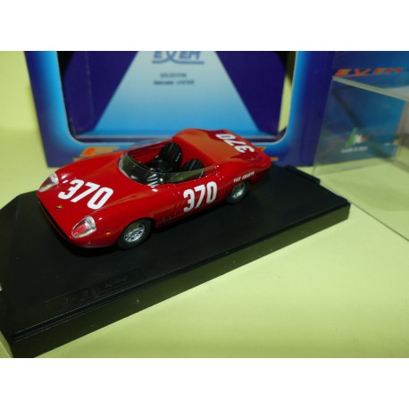 FIAT ABARTH 2000 N°370 BOLOGNA-RATICOSA 1965 EXEM 1:43