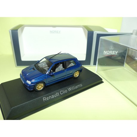 RENAULT CLIO WILLIAMS 1996 Bleu NOREV 1:43