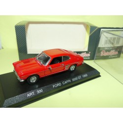 FORD CAPRI 3000 GT 1969 Rouge DETAILCARS 300 1:43