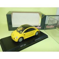 VW NEW BEETLE CONCEPT 1 1994 Jaune DETAILCARS 260 1:43