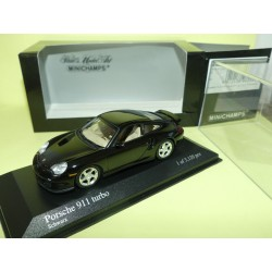 PORSCHE 911 TURBO 996 Noir MINICHAMPS 1:43