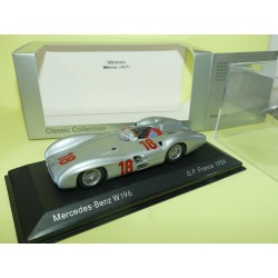 MERCEDES W196 GP DE FRANCE 1954 FANGIO MINICHAMPS 1:43 1er