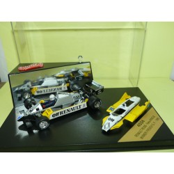 RENAULT RE30B GP DE FRANCE 1982 R. ARNOUX QUARTZO 4034 1:43