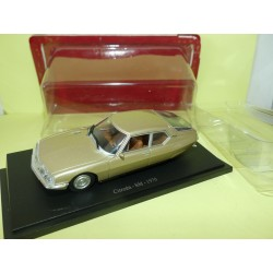 CITROEN SM 1970 Bronze UNIVERSAL HOBBIES  1:43 blister