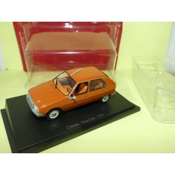CITROEN VISA CLUB 1972 orange  UNIVERSAL HOBBIES 1:43 sous blister