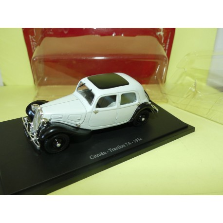 CITROEN TRACTION 7A  1934 Gris et Noir UNIVERSAL HOBBIES  1:43 blister