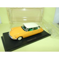 CITROEN ID 19 Orange 1957 UNIVERSAL HOBBIES 1:43 blister