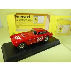 FERRARI 340 MEXICO N°637 MILLE MIGLIA 1953 ART MODEL ART038 1:43