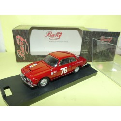 ALFA ROMEO 2600 SPRINT RALLYE TOUR DE FRANCE 1963 BANG 7276 1:43