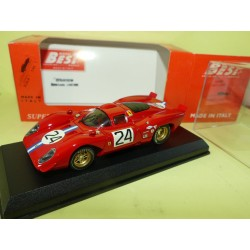 FERRARI 312 P COUPE DAYTONA 1970 BEST 9153 1:43