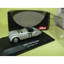 BMW 328 ROADSTER N°72 RALLYE MILLE MIGLIA 1940 SCHUCO 1:43
