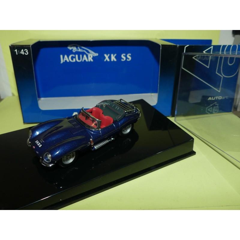 JAGUAR XJK SS Bleu AUTOART 53751 1:43