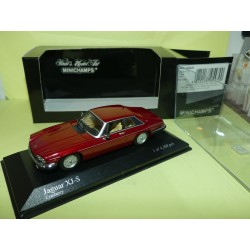 JAGUAR XJ-S COUPE 1980 Rouge Bordeaux MINICHAMPS 1:43