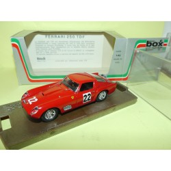 FERRARI 250 TDF N°22 GP DE PARIS 1960 BOX BEST 8426 1:43