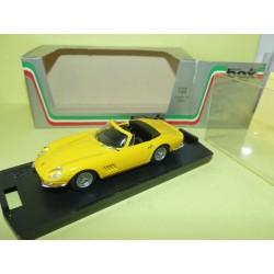 FERRARI 275 GTB SPYDER Jaune BOX BEST 8418 1:43