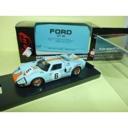 FORD GT 40 N°9 LE MANS 1969 BANG 7074 1:43 1er