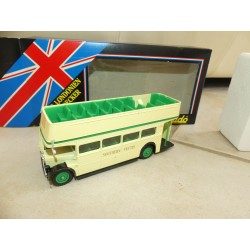 BUS LONDONIEN DOUBLE DECKER SOUTHERN VECTIS SOLIDO 1:50