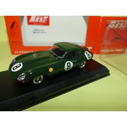 JAGUAR TYPE E N°8 LE MANS 1962 BEST 9161 1:43