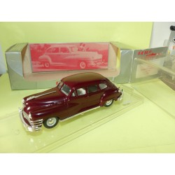 CHRYSLER WINDSOR SEDAN 1947 Bordeaux  VITESSE 370 1:43