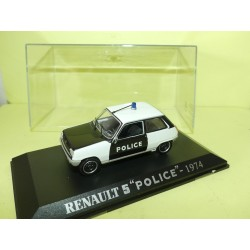RENAULT 5 POLICE 1974 UNIVERSAL HOBBIES Collection M6 1:43