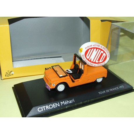 CITROEN MEHARI UNICO Tour De FRANCE 1972 NOREV 1:43
