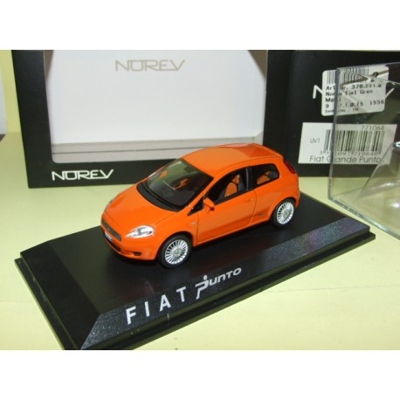 FIAT GRANDE PUNTO Orange NOREV 1:43