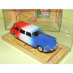 CITROEN ID BREAK 1963 Bleu Blanc Rouge salon du jouet 1993  NOREV 1:43