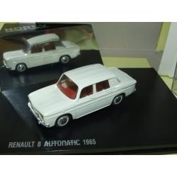 RENAULT 8 AUTOMATIC 1965 Blanc cassé NOREV 1:43