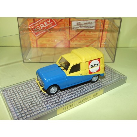 RENAULT 4 F4 DARTY NOREV 1:43