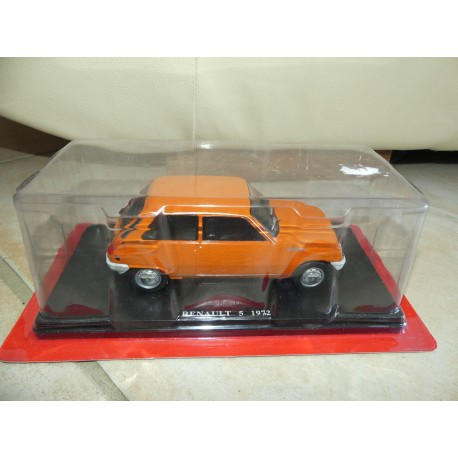 RENAULT 5 TL 1972 Orange IXO PRESSE 1:24