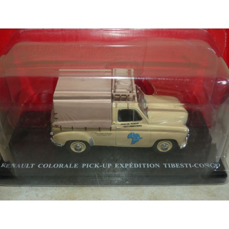 RENAULT COLORALE PICK UP EXPEDITION TIBEST-CONGO IXO PRESSE 1:43