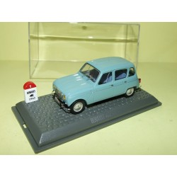 RENAULT 4 L 1962 Bleu UNIVERSAL HOBBIES 1:43  M6 Interaction