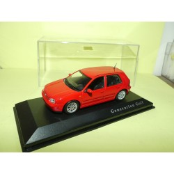VW GOLF GTi IV Rouge MINICHAMPS 1:43