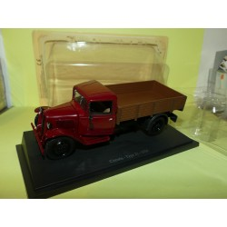 CITROEN TYPE 23 BENNE 1936 Rouge UNIVERSAL HOBBIES  1:43 blister