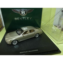 BENTLEY MULSANNE 2010 Light Gazelle MINICHAMPS 1:43