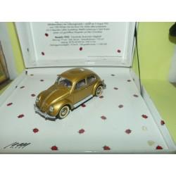 VW COCCINELLE 1955 Or 1000000 ème Coffret MINICHAMPS 1:43