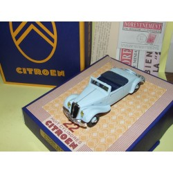 CITROEN TRACTION 22 CV ROADSTER 1934 Bleu Clair NOREV 1:43
