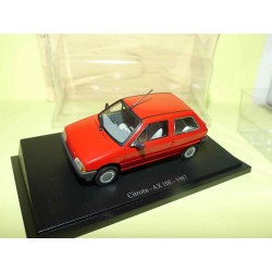 CITROEN AX 10E 1987 Rouge  1:43 blister