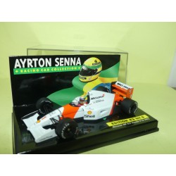 McLAREN MP4-7 HONDA GP 1992 A. SENNA MINICHAMPS 1:43